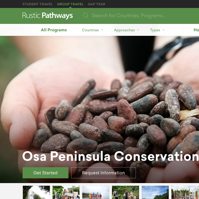 Rustic Pathways Groups 1