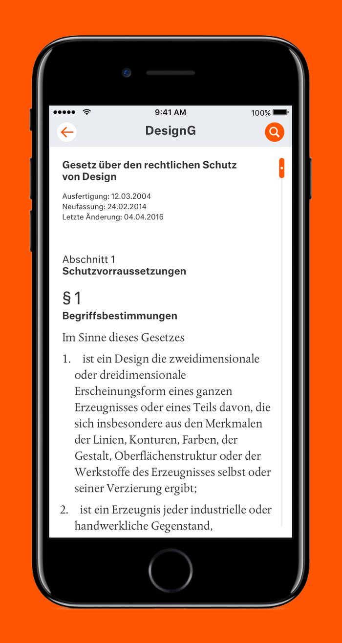 LX Gesetze App 1