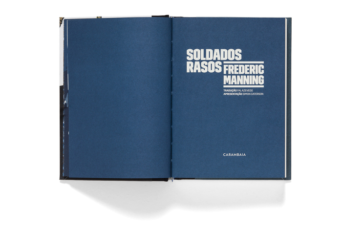 Soldados Rasos by Frederic Manning 2