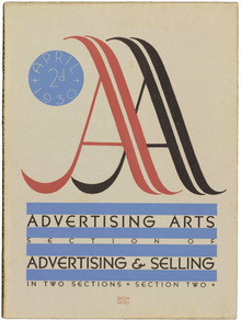 <cite>Advertising Arts</cite>, April 1930