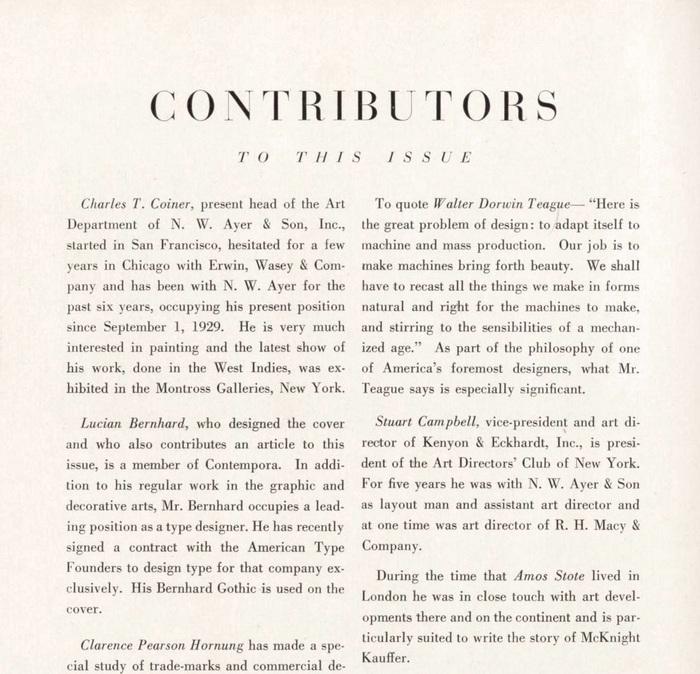 Advertising Arts, April 1930 3