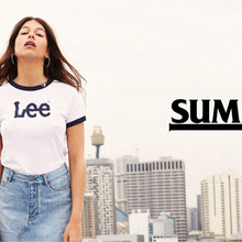 Lee Australia: Summer 2016 website graphics