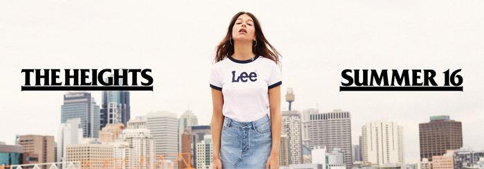 Lee Australia: Summer 2016 website graphics 1