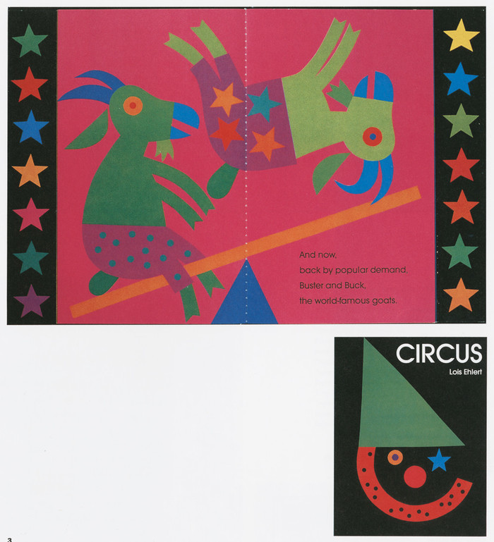 Color Farm, Color Zoo, Circus by Lois Ehlert 4