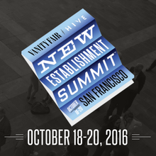 <cite>Vanity Fair</cite> New Establishment Summit 2016