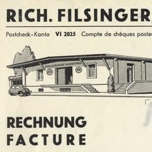 Rich. Filsinger invoice, 1944