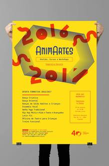 AnimArtes poster and flyer
