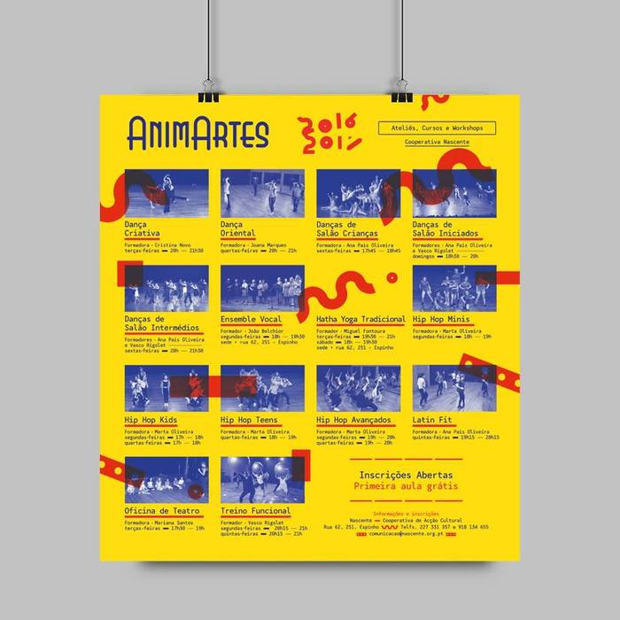 AnimArtes poster and flyer 2