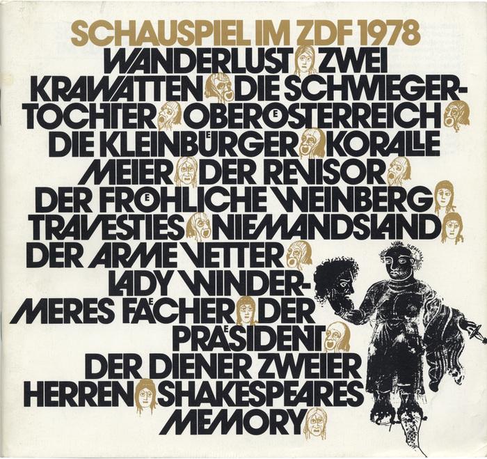Schauspiel im ZDF (1978–83) 1