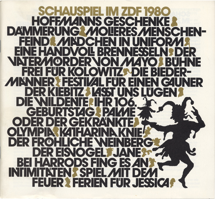 Schauspiel im ZDF (1978–83) 8