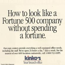 Kinko's ads (1992)