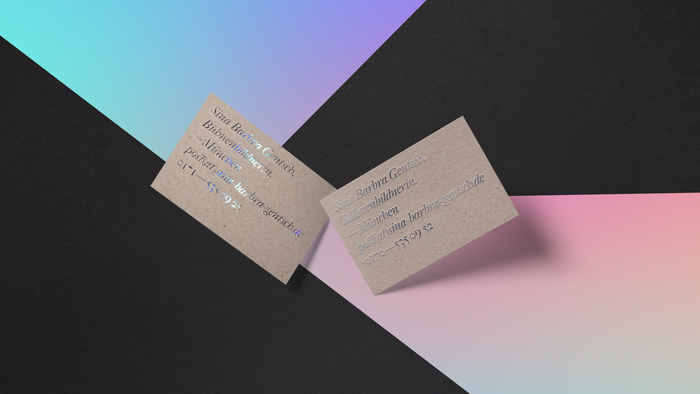 Sina Gentsch business cards 1