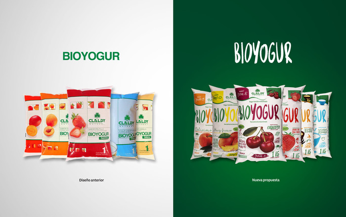 Claldy Bioyogur packaging (2016) 1