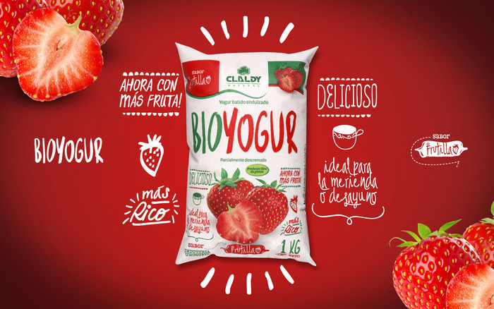Claldy Bioyogur packaging (2016) 2