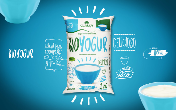 Claldy Bioyogur packaging (2016) 6