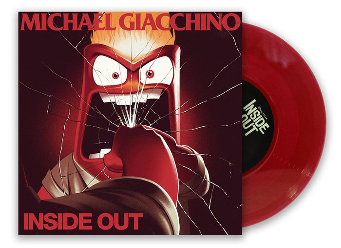 Inside Out 7-inch single series and posters 8