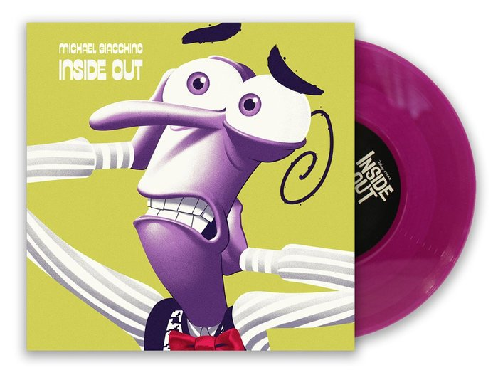 Inside Out 7-inch single series and posters 9