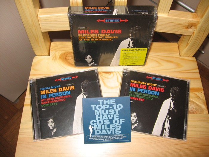Miles Davis – In Person Friday and Saturday Nights at the Blackhawk, Complete album art 2