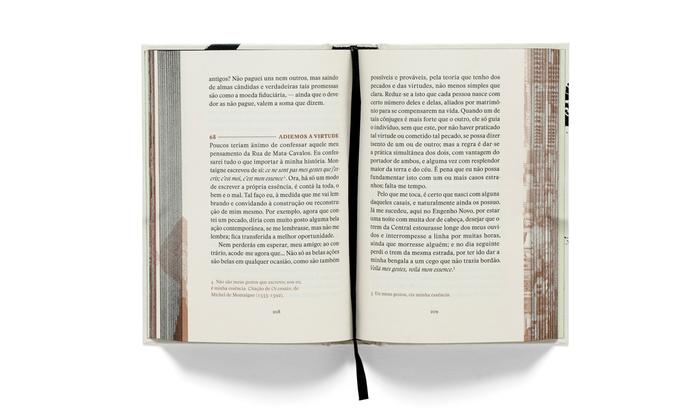 Footnotes and titles printed in Pantone 876 U