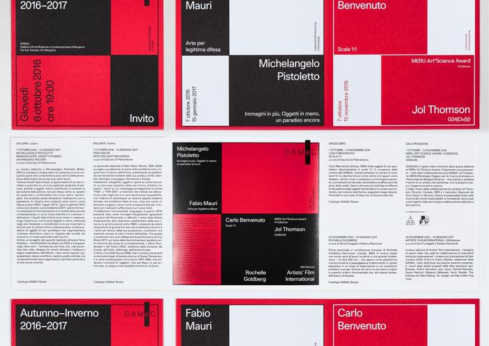 GAMeC – Galleria di Arte Moderna e Contemporanea, Bergamo 1
