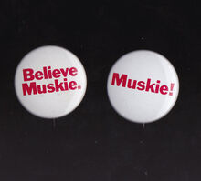 Ed Muskie 1972 US Presidential Campaign