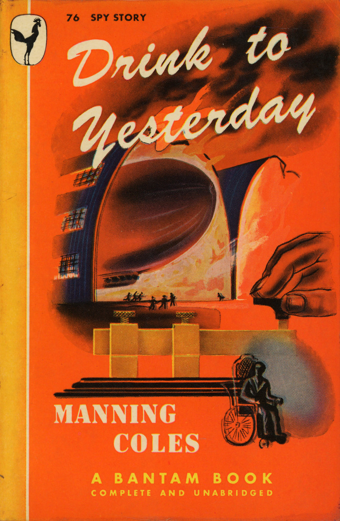 Drink to Yesterday by Manning Coles, Bantam Books