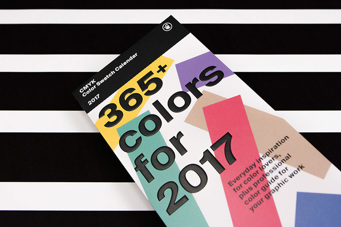 Color Swatch Calendar 2017 3