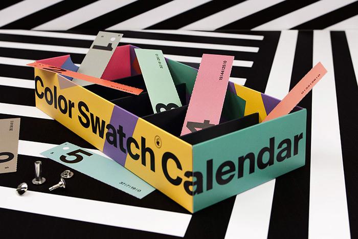 Color Swatch Calendar 2017 4