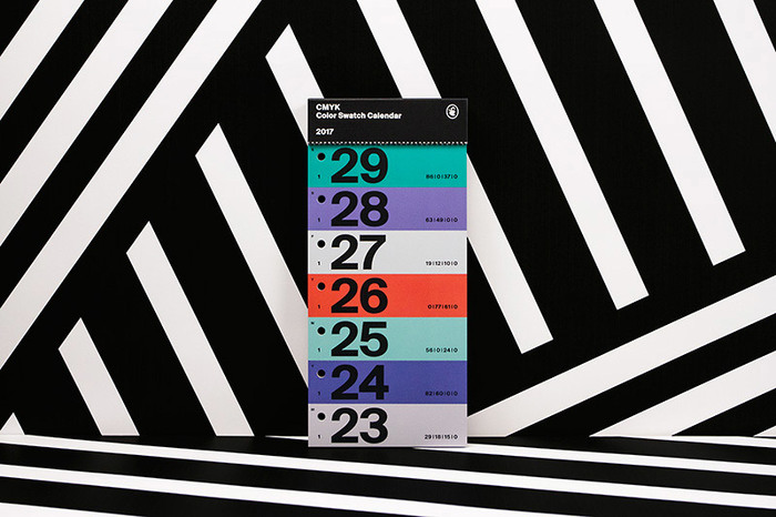 Color Swatch Calendar 2017 8