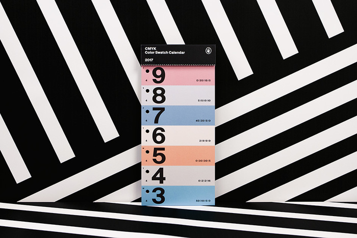 Color Swatch Calendar 2017 6