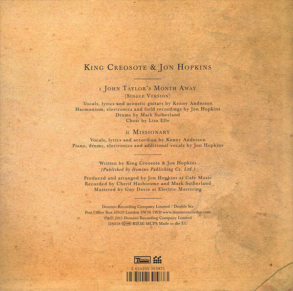 King Creosote & Jon Hopkins – Diamond Mine 9