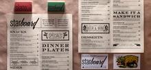 Starboard menu