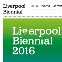 Liverpool Biennial 2016