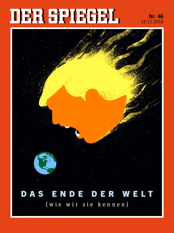 """Der Spiegel Nr. 46, 2016 """"Das Ende der Welt"""""""
