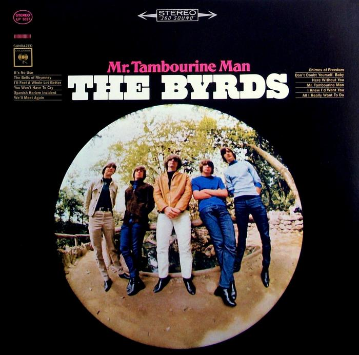 The Byrds – Mr. Tambourine Man album art
