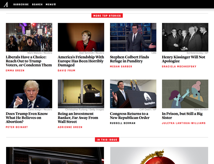 The Atlantic website (2016) 5