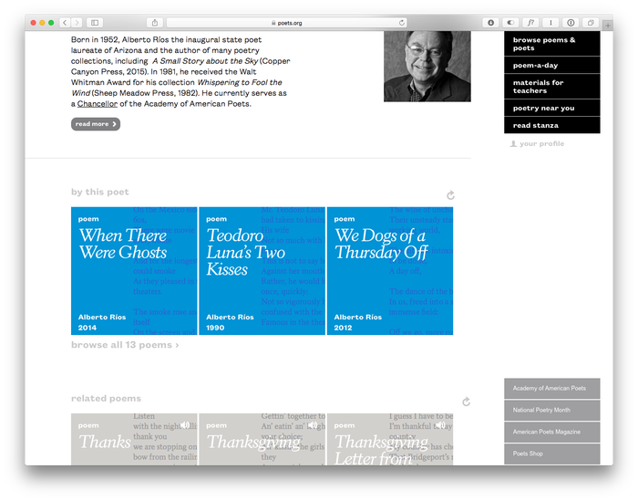 Poets.org (2014 redesign) 3