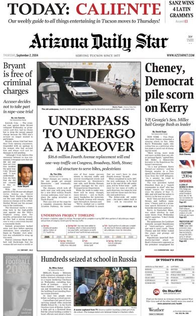 Arizona Daily Star & La Estrella de Tucsón (2004–08) 3