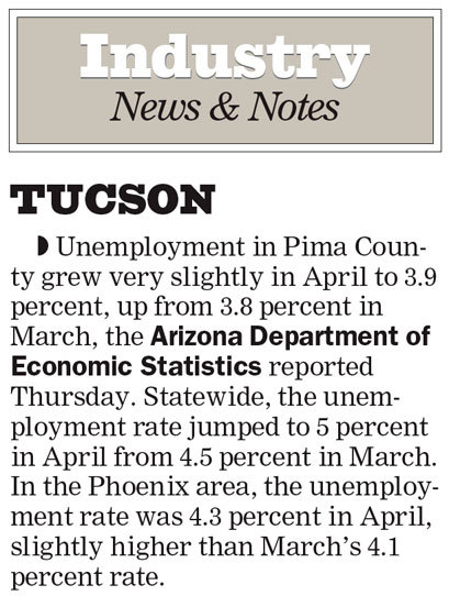 Arizona Daily Star & La Estrella de Tucsón (2004–08) 5