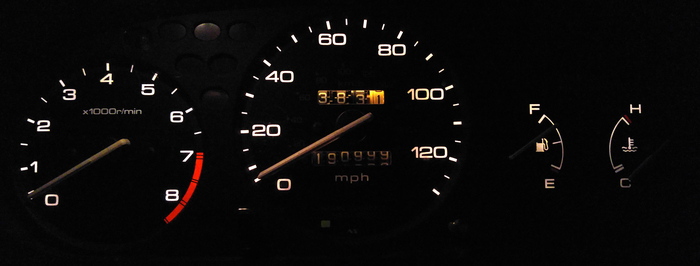 1997 Honda Civic dashboard
