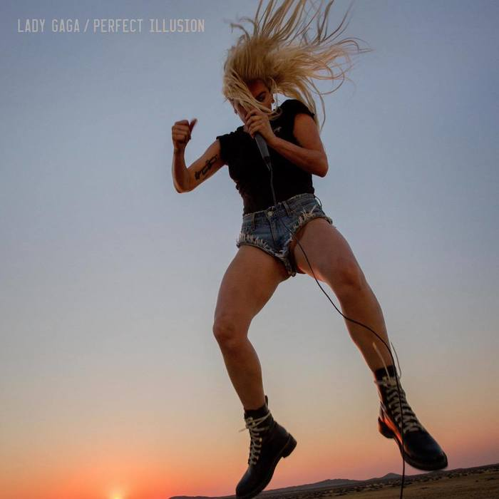 LADY GAGA / PERFECT ILLUSION (single)