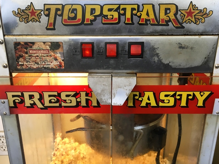 Great Northern Topstar popcorn machines 1