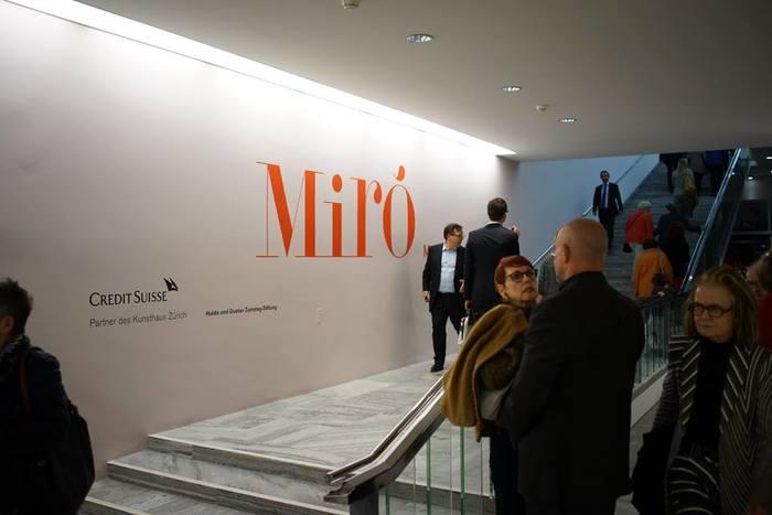 """""""Joan Miró. Wall, Frieze, Mural"""", Kunsthaus Zürich 2"""