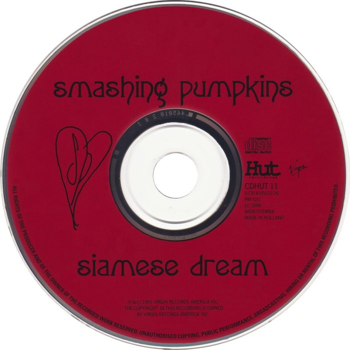Smashing Pumpkins – Siamese Dream album art 3