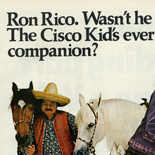 """Ron Rico"" ad for Ronrico rum (1968)"