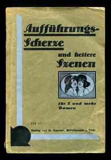 <cite>Aufführungs-Scherze und heitere Szenen</cite>