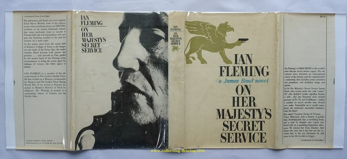 """""""Part of the so called """"Taiwanese Pirate"""" editions of the Fleming titles. These unofficial copies """"borrow"""" the content and text from UK and US publications (Pan, Cape, Viking, NAL). The dust jacket artwork is a curious mix of elements stolen from the original books and locally designed artwork."""" — Collecting Fleming"""