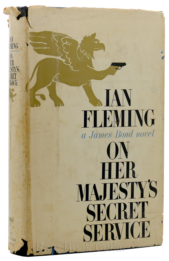 On Her Majesty's Secret Service, New American Library edition 2