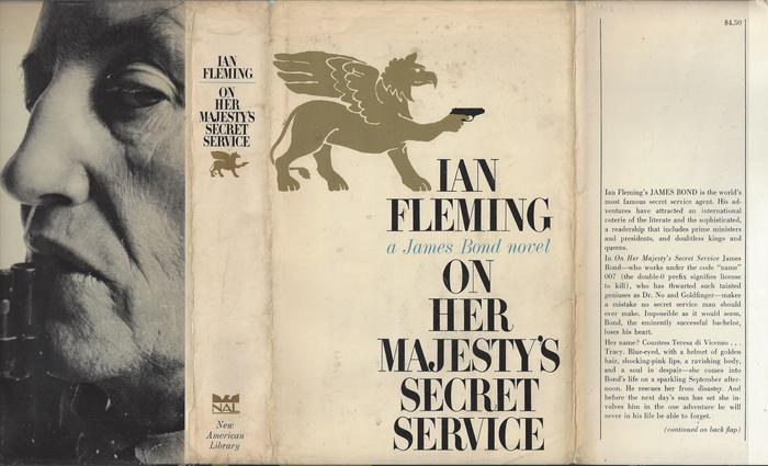 On Her Majesty's Secret Service, New American Library edition 1