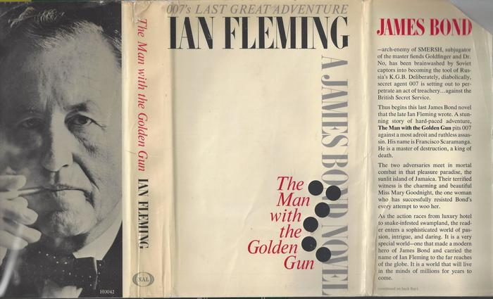 The Man with the Golden Gun, New American Library edition 1